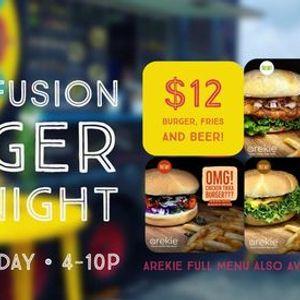 12 Fusion BurgerBeer Deal Night