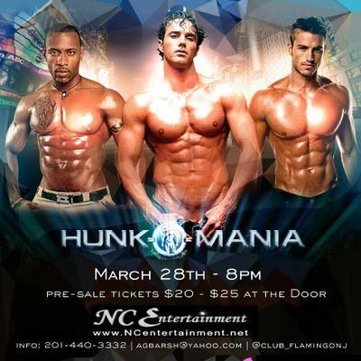 Hunk-O-Mania Male Revue Strip Show Club - San Diego CA