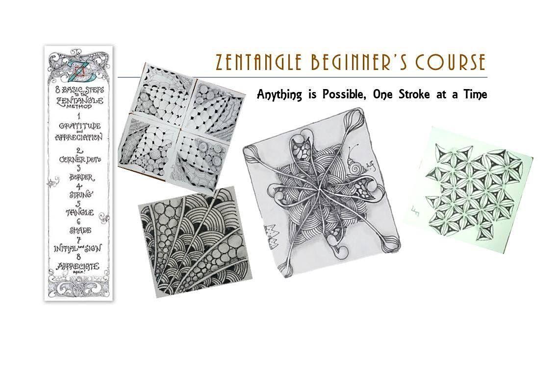 Zentangle®  Essential: Beginners' Course(ONLINE)  禅绕画初阶课(线上) - 12/12/2020, 12 December   AllEvents.in