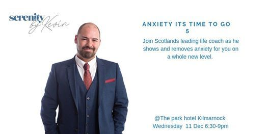 Anxiety Its time to go 5 (An evening of fast dynamic change)