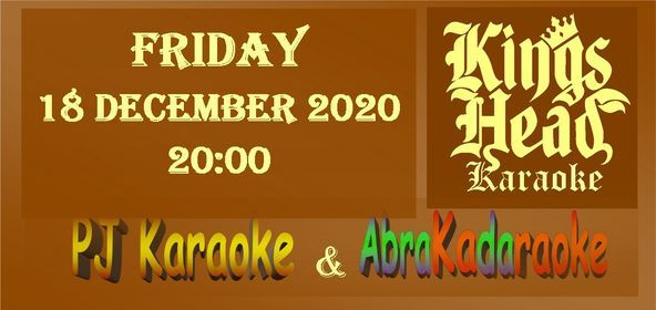 Karaoke at the Kings Head, 18 December   Event in Poole   AllEvents.in