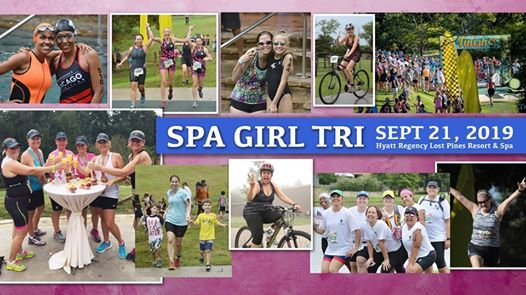 Spa Girl Tri Lost Pines