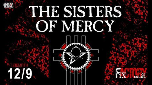 The Sisters Of Mercy live in Thessaloniki