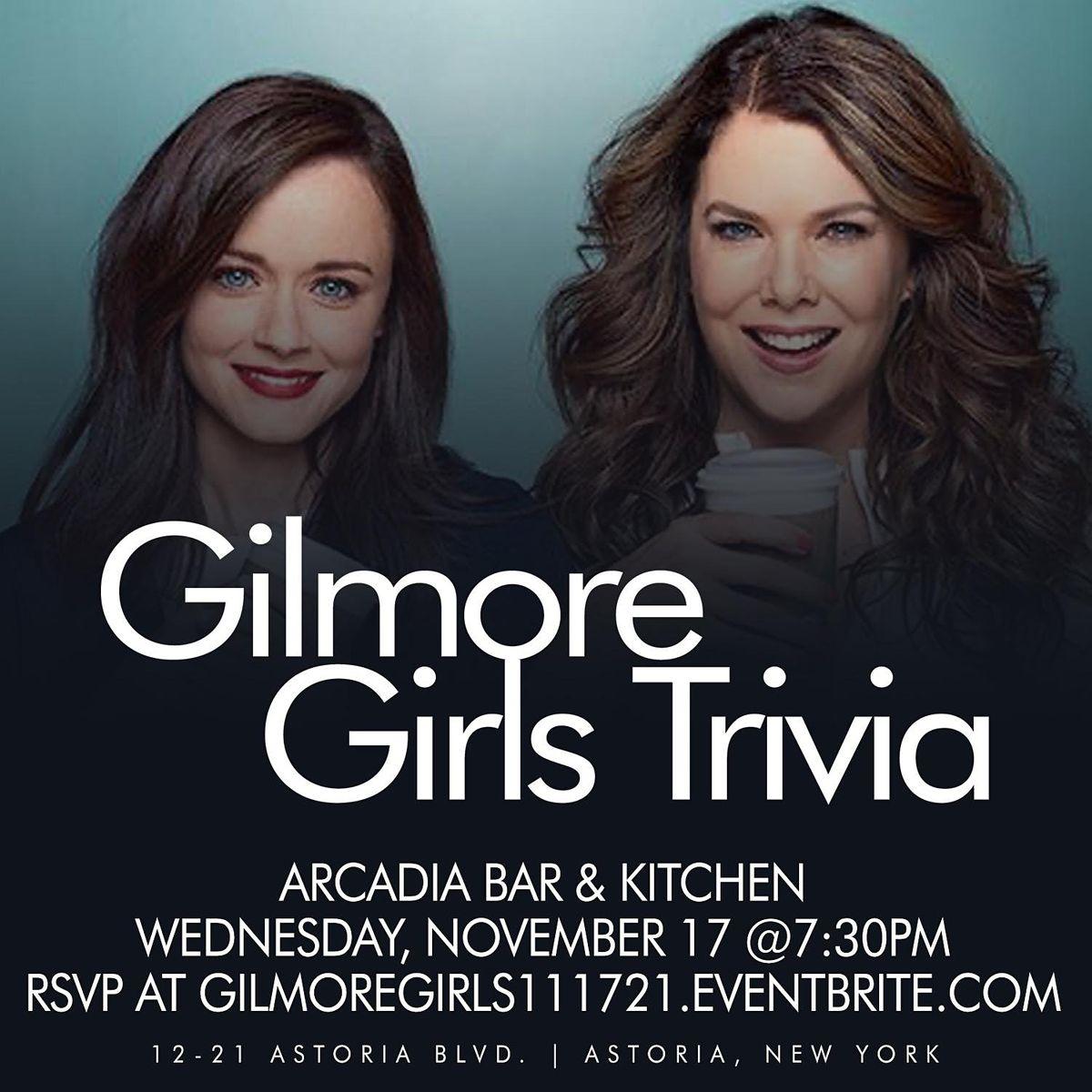 Gilmore Girls Trivia, 17 November   Event in Queens   AllEvents.in