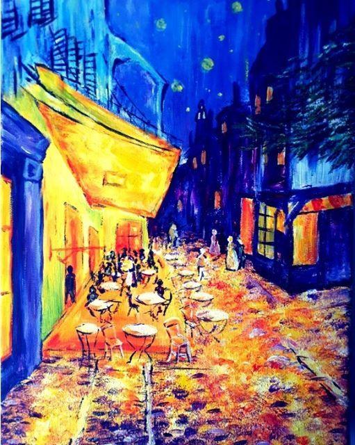 ArtMasters - Paint Party - Paint like Van Gogh Caf de Paris
