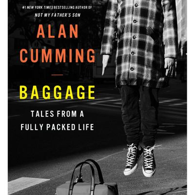 Official U.S. Book Launch Baggage by Alan Cumming