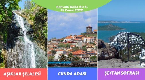 Aşıklar Şelalesi - Ayvalık Cunda Adası - Şeytan Sofrası Turu, 29 November   Event in Izmir   AllEvents.in
