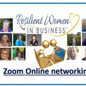 Cloverdale -  Resilient Women In Business Networking (Zoom)