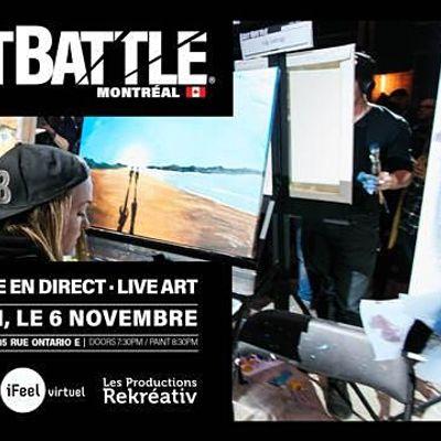 Art Battle Montral -  6 Novembre 2021