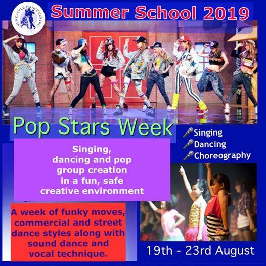 Summer School - Pop Stars Week