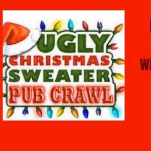 Ugly Christmas Sweater Pub Crawl