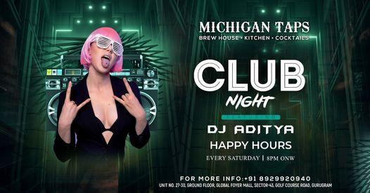 Every Saturday   Club Night Ft. Dj Aditya   Event in Gurgaon   AllEvents.in