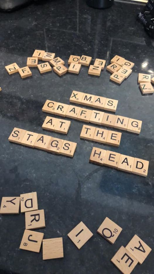 Christmas kids crafting wordswithfriends