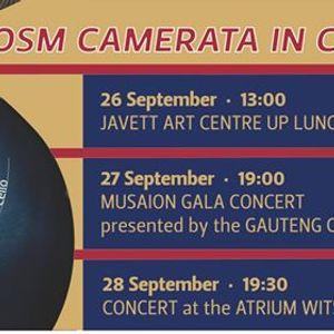 Odeion School of Music Camerata in Concert Gauteng Tour 2019