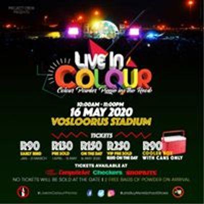 Live In Colour Picnic