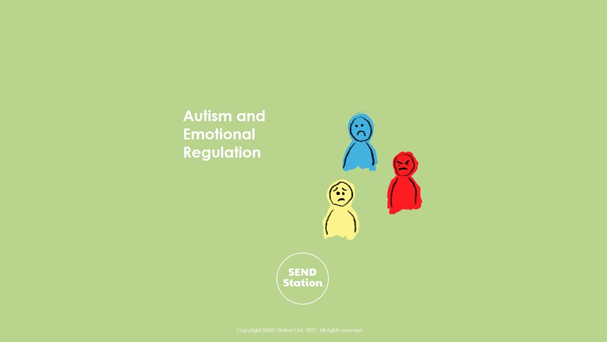 Autism and Emotional Regulation, 20 July | Online Event | AllEvents.in
