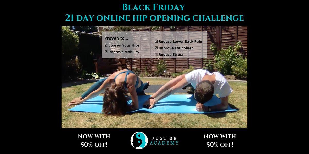 Black Friday 21 Day Online Hip Opening Challenge El Paso 30 November 2020