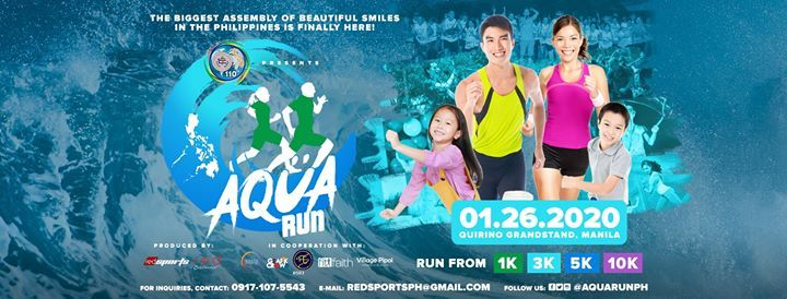 AquaRUN - The Biggest Water FunRun Event of 2020
