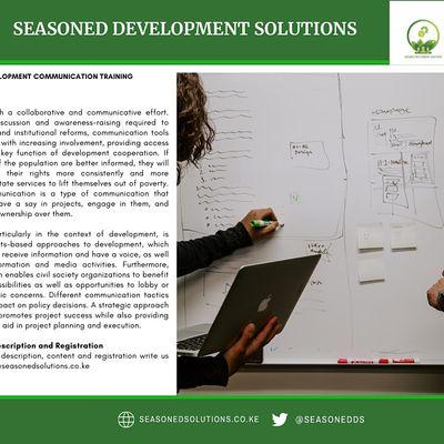 Development Communication Training (Virtually and Onsite)