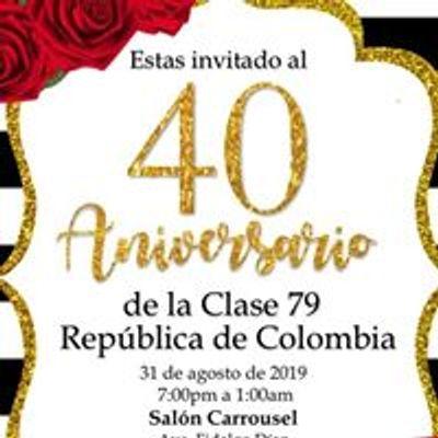 Clase 79 Escuela República De Colombia