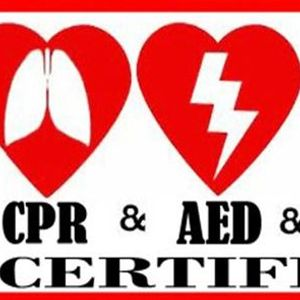 CPR First Aid AED Certification Class