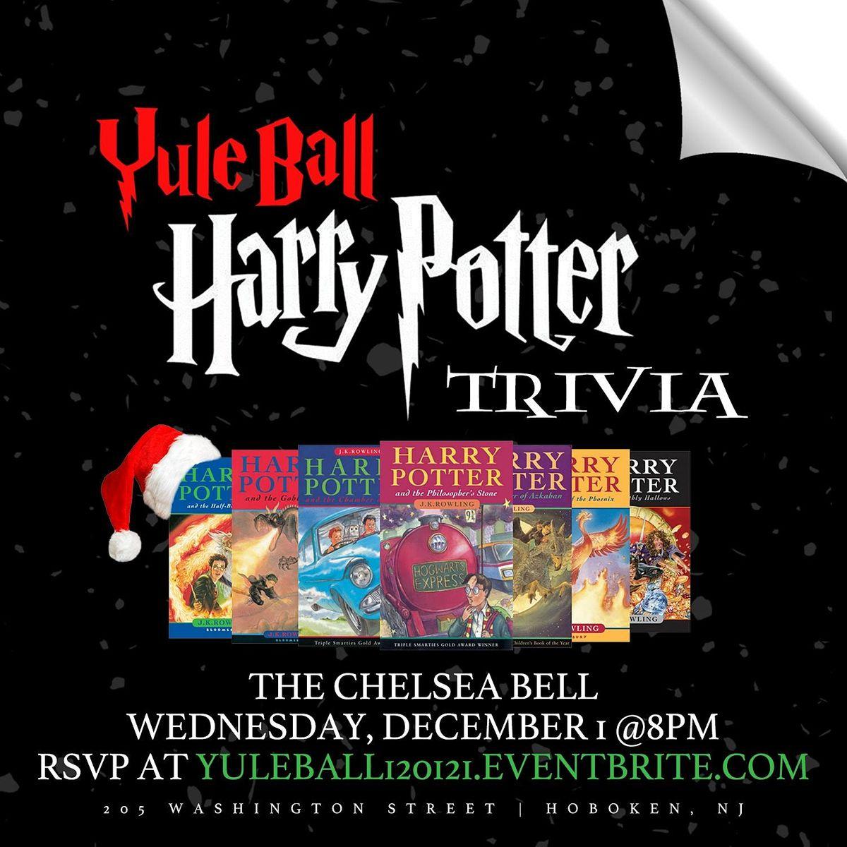 Yule Ball: Harry Potter (Book) Trivia, 1 December | Event in Hoboken | AllEvents.in