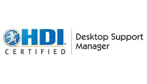 HDI Desktop Support Manager 3 Days Training in Canberra