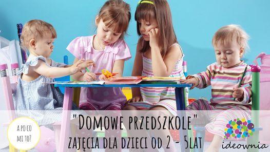 """""""Domowe Przedszkole"""" zajęcia dla dzieci od 2 do 6 lat, 9 March   Event in Poznan   AllEvents.in"""
