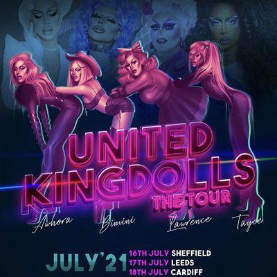 Klub Kids Cardiff Presents THE UNITED KINGDOLLS The Tour  (Ages 14)