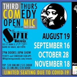 Comedy Open Mic Night - Presented by Big Timing Comedy