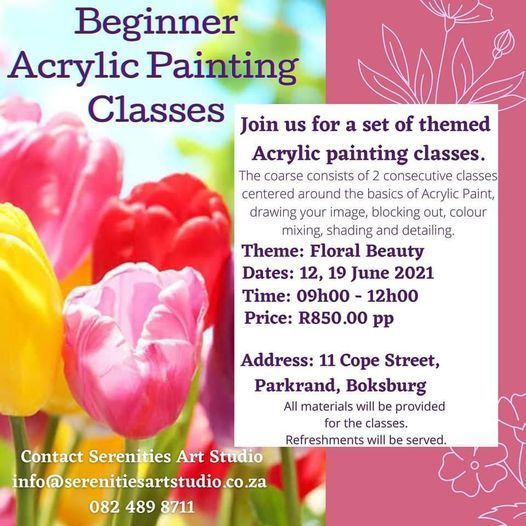 Acrylic Painting Classes | Event in Boksburg | AllEvents.in