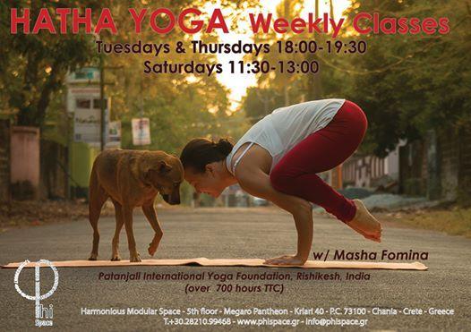 Hatha Yoga with Masha