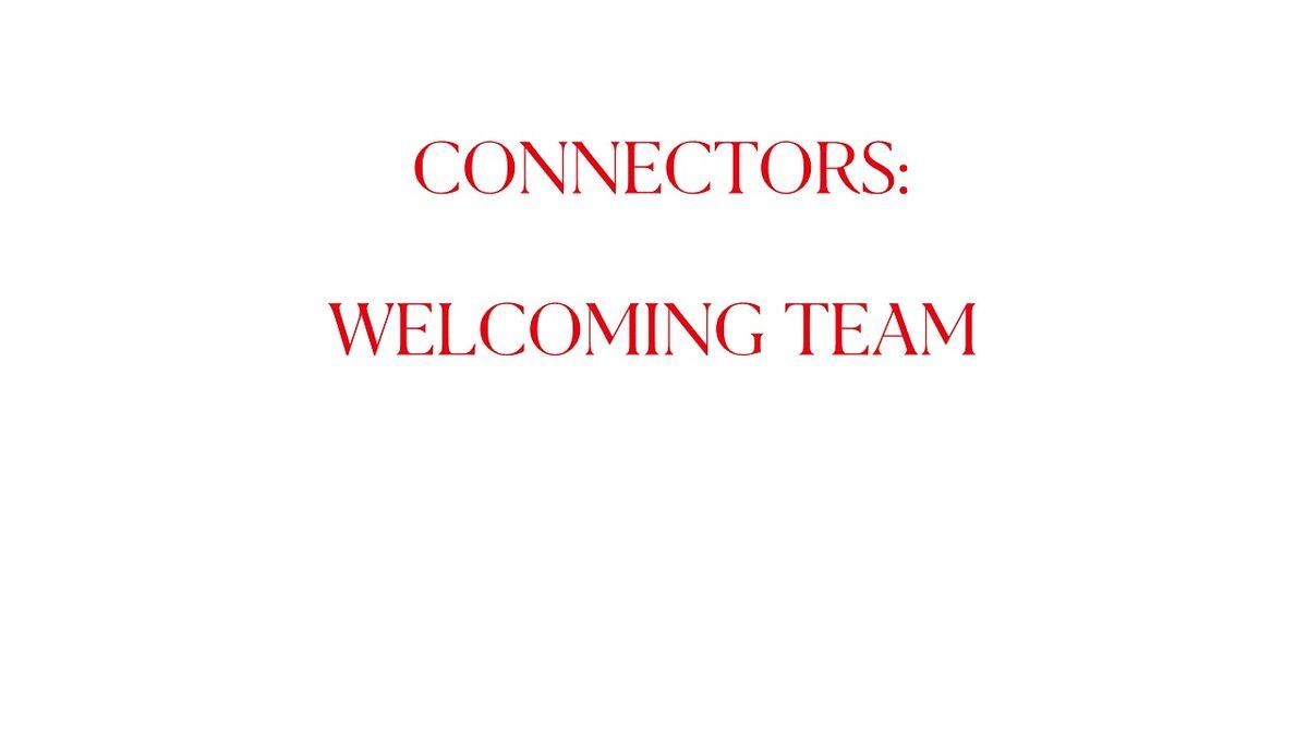 Volunteer shifts Connectors