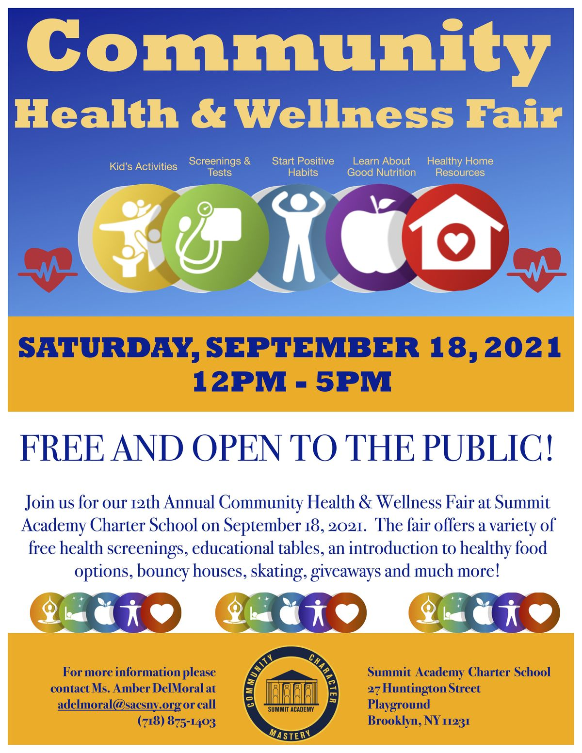 Community Health & Wellness Fair, 18 October | Event in Brooklyn | AllEvents.in