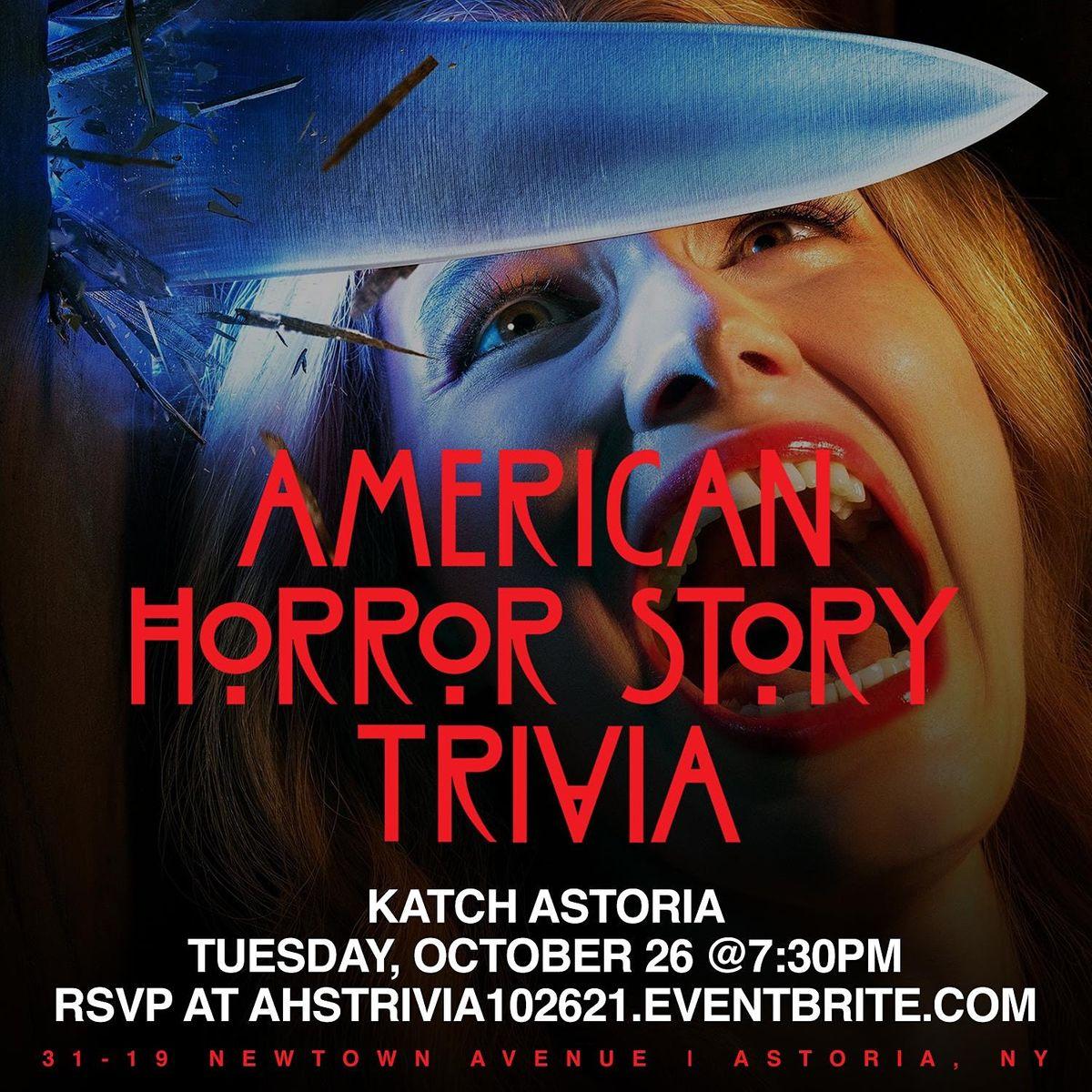American Horror Story Trivia, 26 October   Event in Queens   AllEvents.in