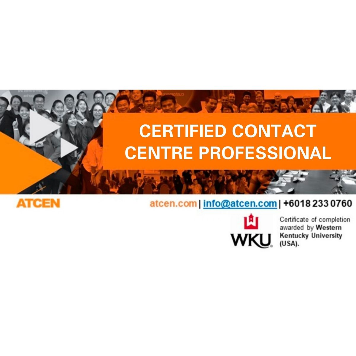 Certified Contact Center Professional, 7 December | Event in Petaling Jaya | AllEvents.in