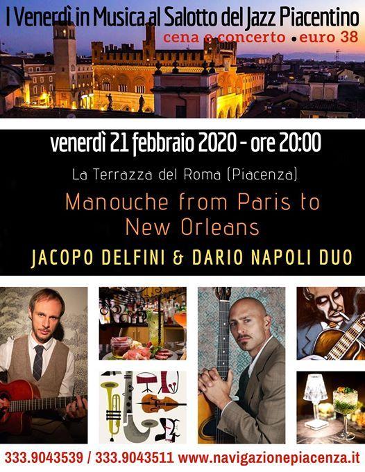 Jacopo Delfini Dario Napoli Duo Cena E Concerto At