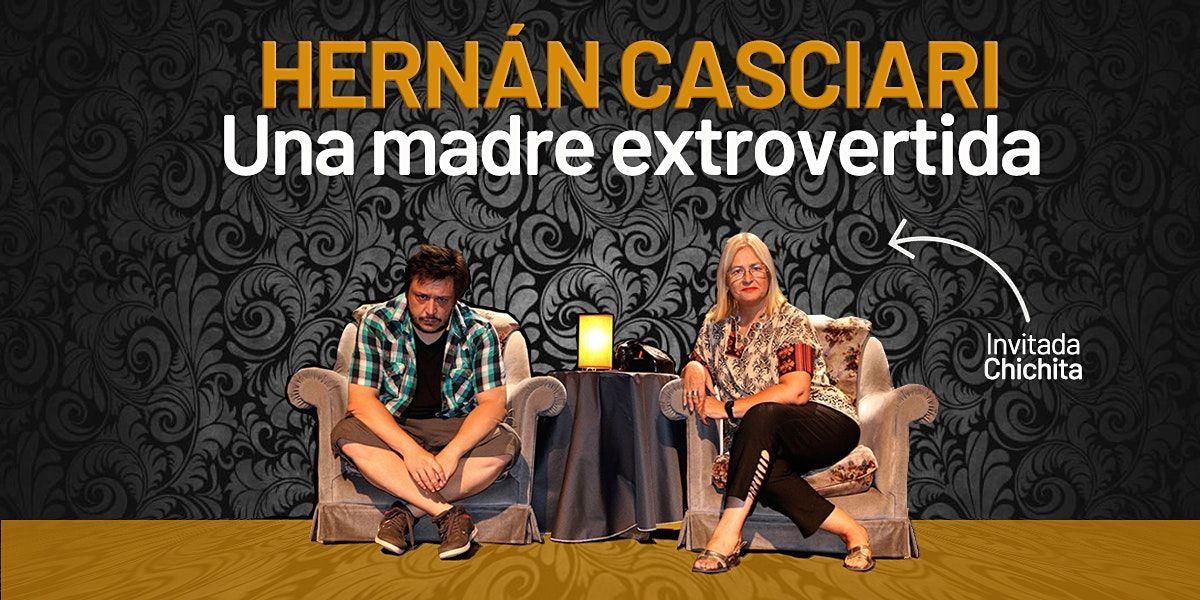 HERNÁN CASCIARI: «Una madre extrovertida», 24 September | Event in Ramos Mejía | AllEvents.in