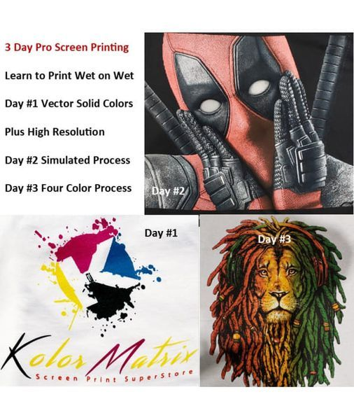 3 Day Pro Screen Print Workshop   Event in Atlanta   AllEvents.in