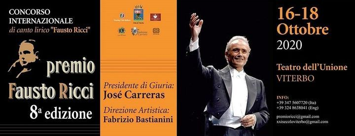 Premio Fausto Ricci 2020