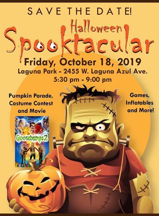 Phoenix Halloween Events 2020.Halloween Spooktacular At Dobson Ranch Hoa Mesa
