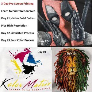3 Day Pro Screen Print Workshop