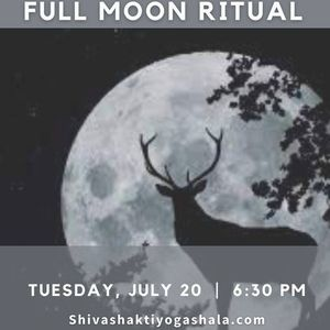 Yin Yoga & Full Moon Ritual for August