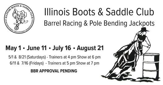 **BBR APPROVED** Barrel Racing & Pole Bending Jackpot, 16 July | Event in Bethalto | AllEvents.in