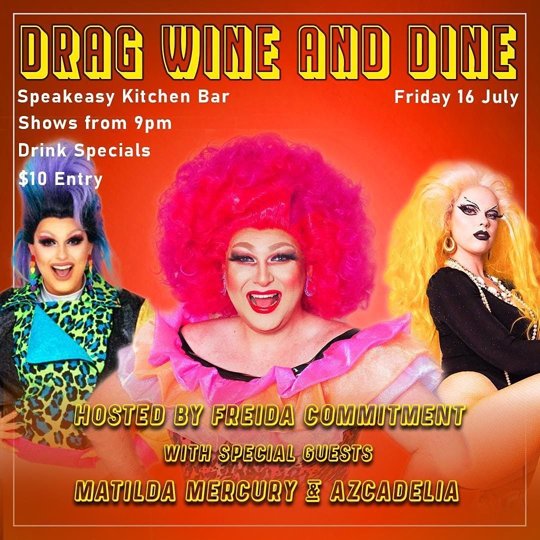 DRAG WINE & DINE - Speakeasy Bar | Event in South Yarra | AllEvents.in