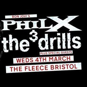 Phil X & The Drills at The Fleece Bristol