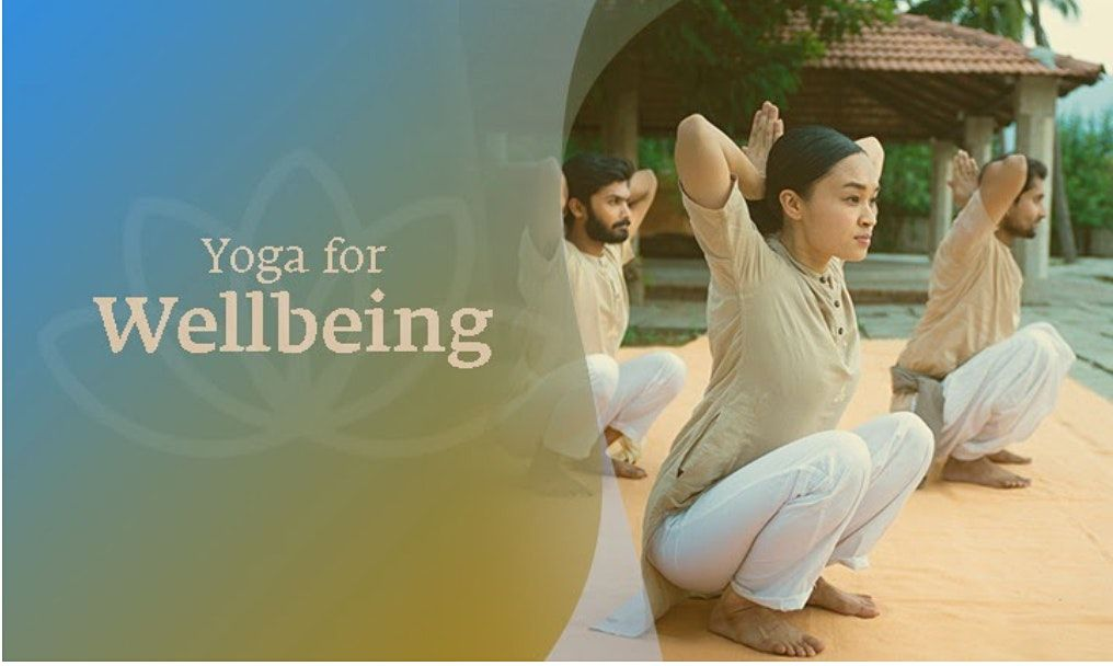 Yoga For Wellbeing: Free Webinar   Online Event   AllEvents.in