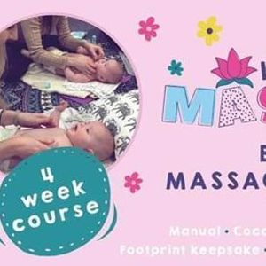 Baby Massage - Broughton Astley - Four Week Course