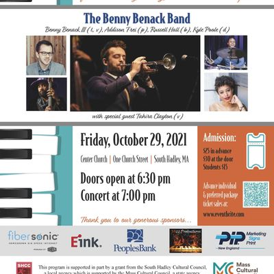 Jazz for Justice Peace & Dignity  The Benny Benack Band
