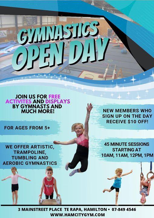 Hamilton City Gymnastics Open Day